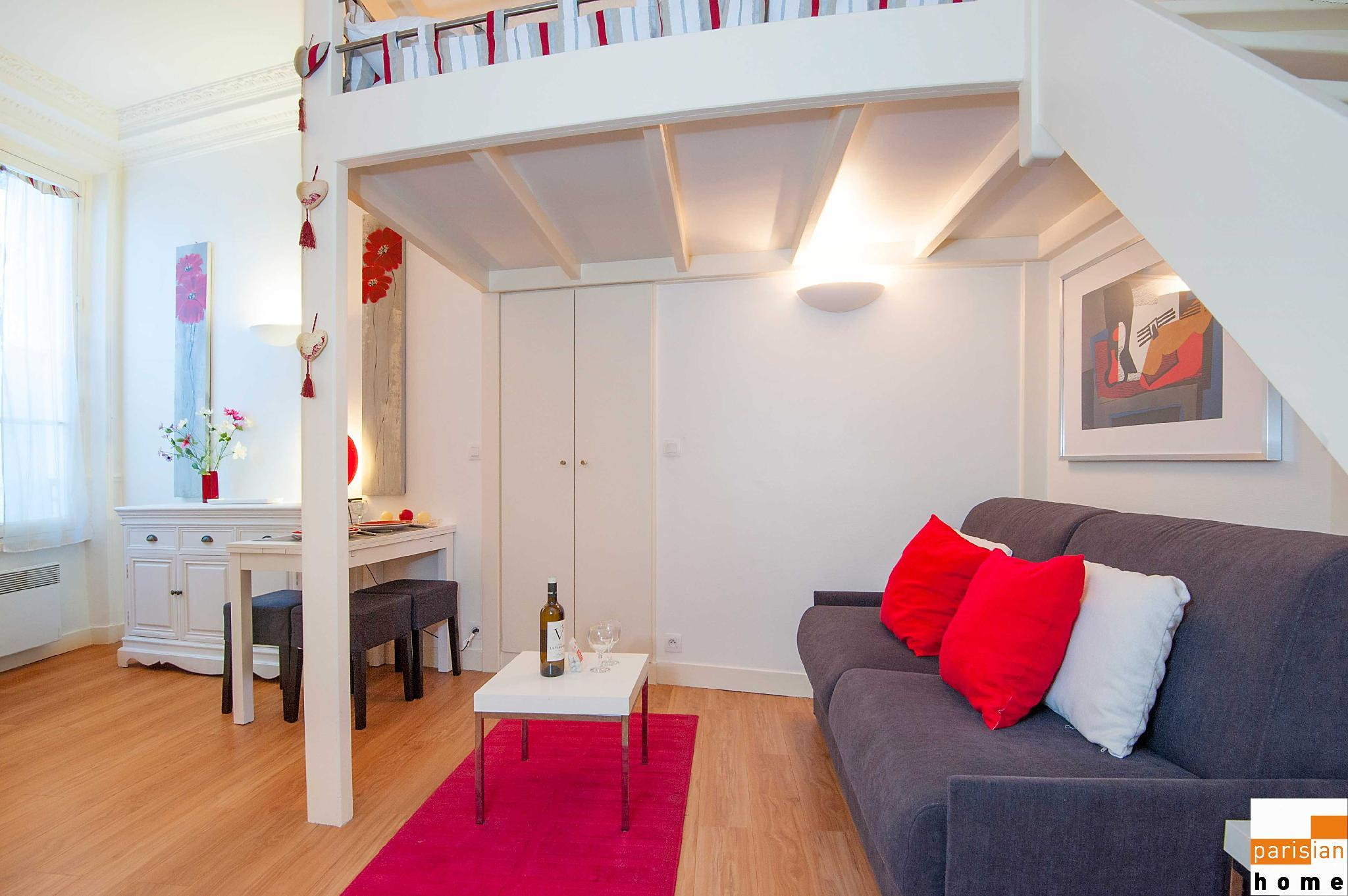 S17171 - Pleasant studio for 3 people at Porte Maillot