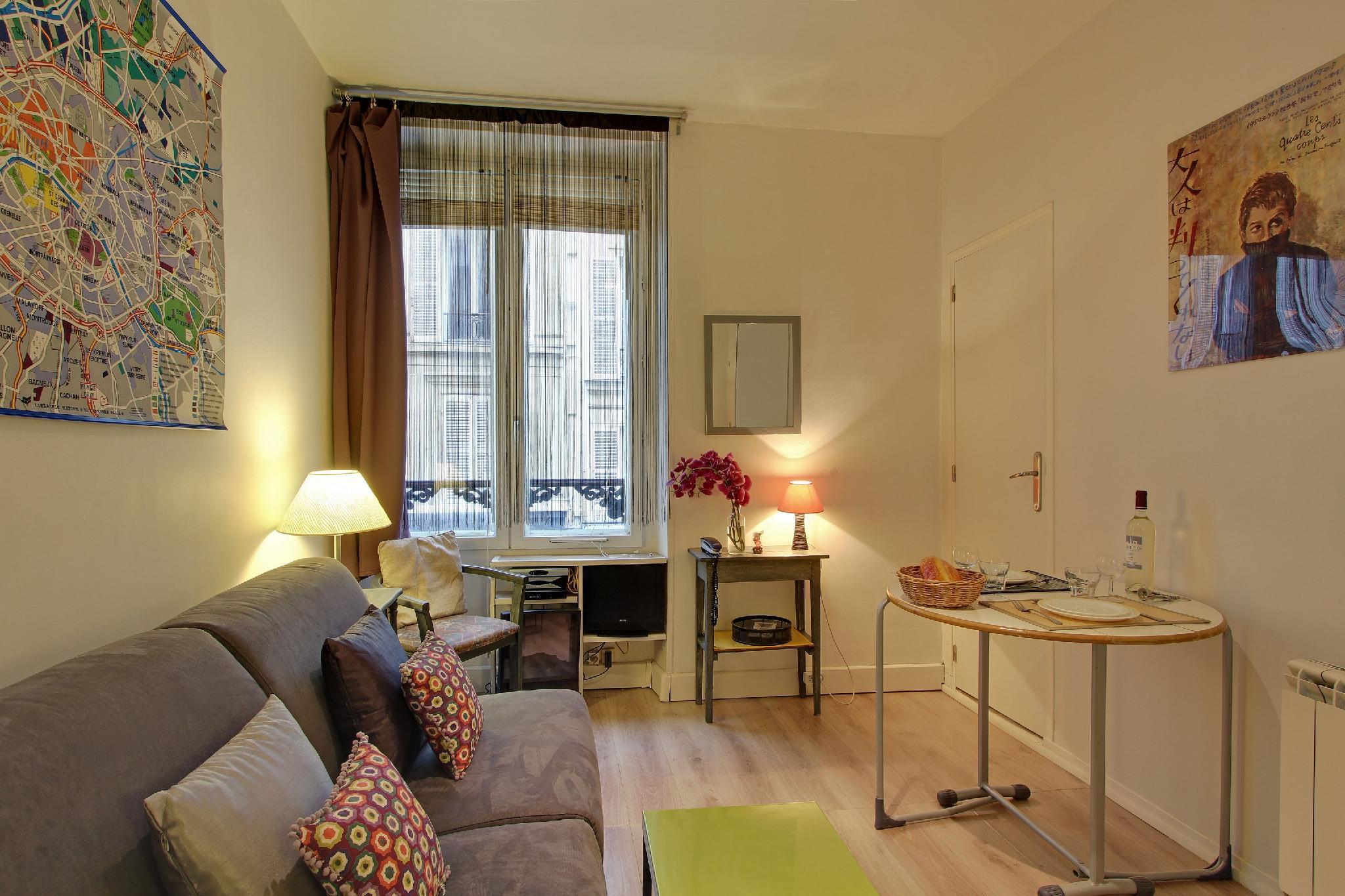 S11293 - Cozy studio for 2 people near the Place de la République