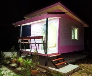 [パティオ]バンガロー(20m2)| 1ベッドルーム/1バスルーム Win Gray Homestay Villa - Purple
