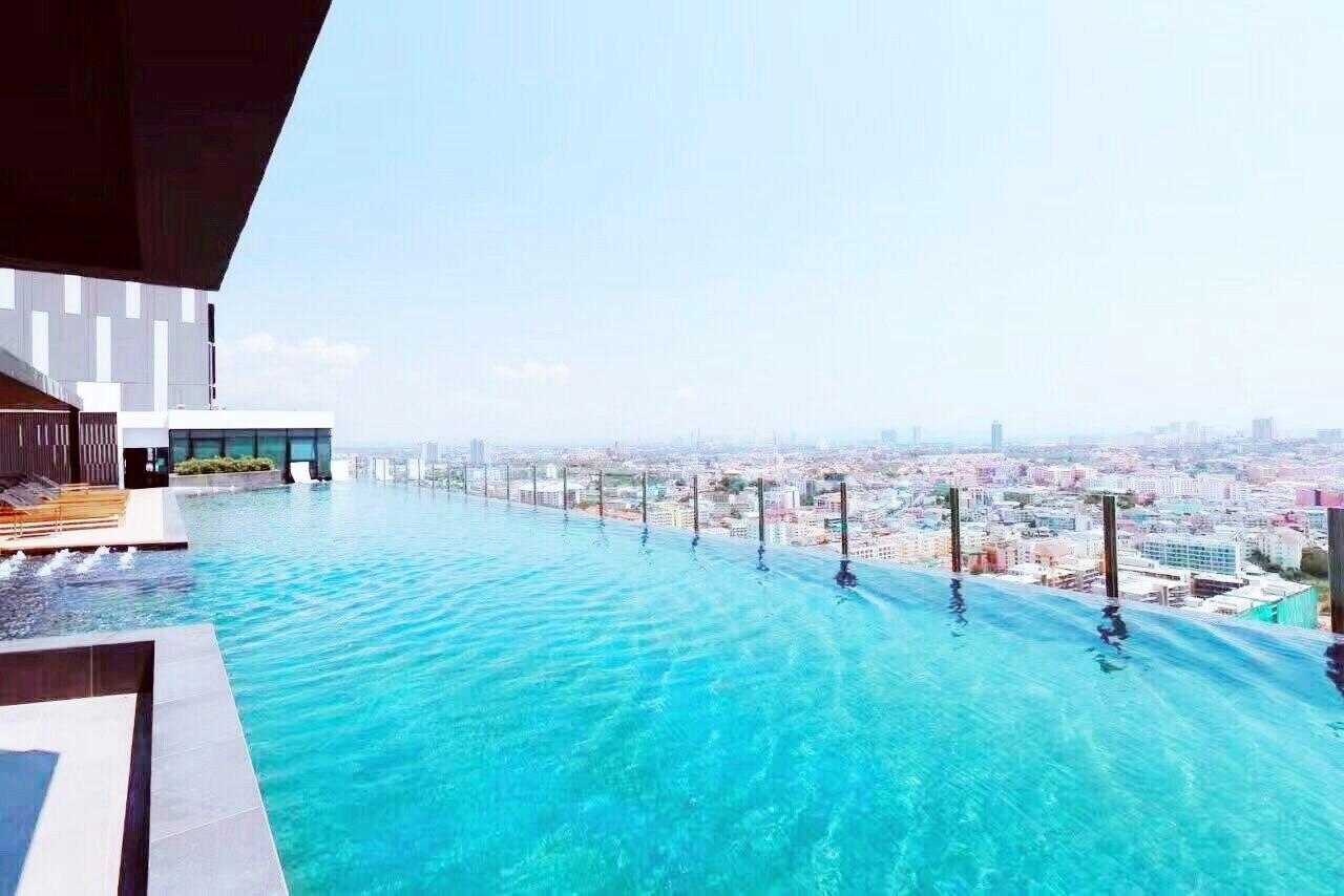 The Base Pattaya high floor Free WIFI/Electric อพาร์ตเมนต์ 1 ห้องนอน 1 ห้องน้ำส่วนตัว ขนาด 35 ตร.ม. – พัทยากลาง