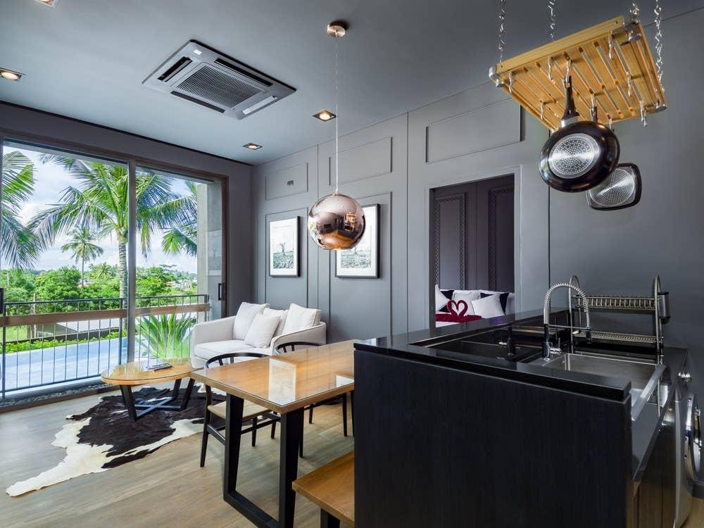 2 BDR Complex Pool Access Apartment in Rawai อพาร์ตเมนต์ 2 ห้องนอน 2 ห้องน้ำส่วนตัว ขนาด 87 ตร.ม. – หาดราไวย์