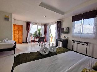 [サラダン]アパートメント(40m2)| 1ベッドルーム/1バスルーム Koh Lanta Guest House triple aircon oceanview
