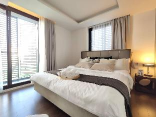 [スクンビット]アパートメント(100m2)| 2ベッドルーム/2バスルーム Bangkok&Pool&BTS Asoke&MRT Sukhumvit&Max7ppl