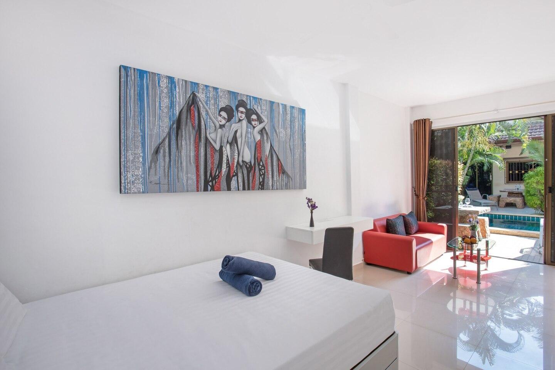 Condo Thalassa 8 บ้านเดี่ยว 1 ห้องนอน 1 ห้องน้ำส่วนตัว ขนาด 40 ตร.ม. – หาดราไวย์