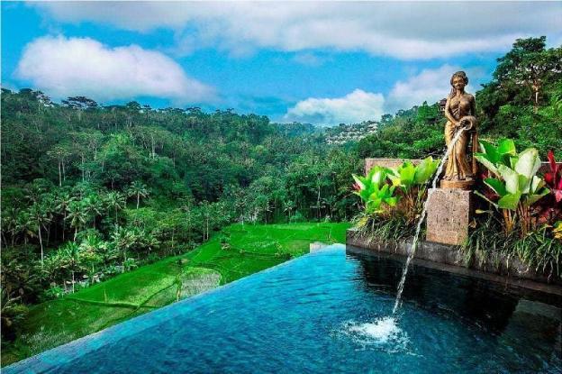1BR Black Private Villa+Pool+HotTub+RiverView@Ubud