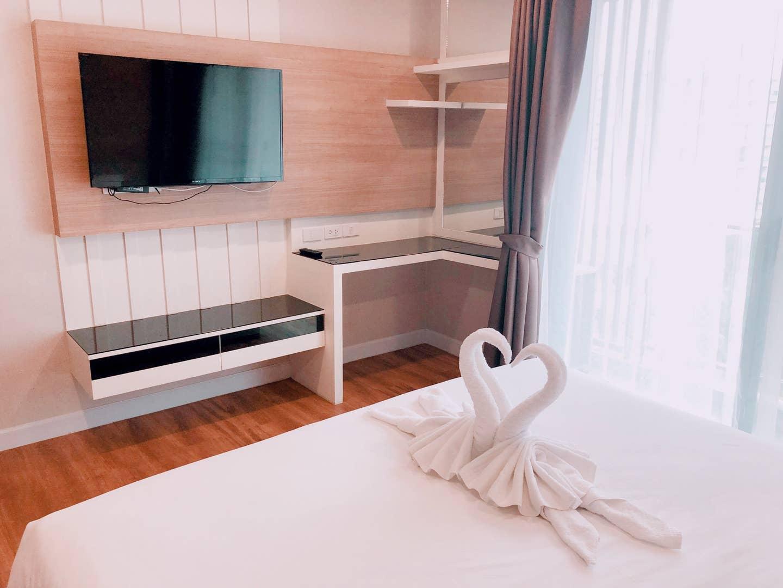 Dusit Grand Park Studio Pool View 1 1 ห้องนอน 0 ห้องน้ำส่วนตัว ขนาด 35 ตร.ม. – หาดจอมเทียน