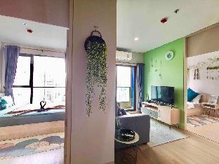 [スクンビット]アパートメント(86m2)| 2ベッドルーム/1バスルーム 33 Floor Downtown 2bdrm, Near to Asoke and Nana