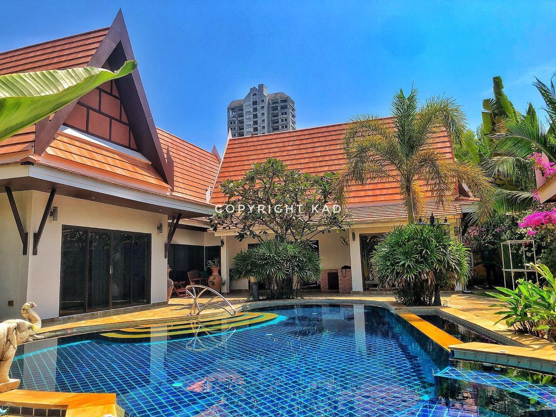 Thai pool villa 1 floor 4 beds. Rayong Beach. 4 ห้องนอน 3 ห้องน้ำส่วนตัว ขนาด 160 ตร.ม. – หาดระยอง