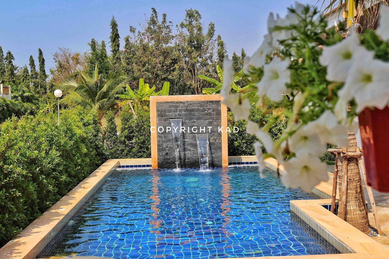 Thai Pool Villa 3 beds 2 bath Rayong 3 ห้องนอน 2 ห้องน้ำส่วนตัว ขนาด 75 ตร.ม. – หาดระยอง