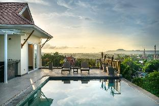 [チャロン]ヴィラ(1600m2)| 5ベッドルーム/4バスルーム 5 Bedrooms Sleepover Pool Party Thai Style Villa