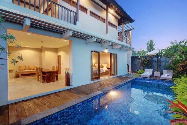 2BR Private Pool Villa + Breakfast @Ubud
