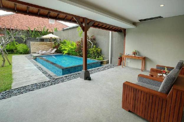 1BR Private Pool Villa + Breakfast @Ubud