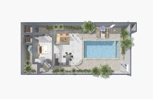 [ラマイ]一軒家(220m2)| 1ベッドルーム/1バスルーム TROPICAL BEACH POOL VILLA III | Beach-Freedom
