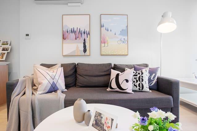 MH06 # Lovely apartment in Melbourne CBD-1B1B