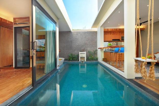 One BR Villa Privat Pool Floating Bathub|AyVS