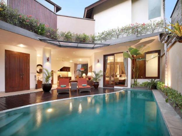 1 BR Private Pool Villa+Hot tub+Breakfast Seminyak