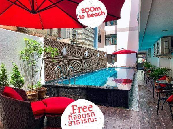 Scandia Beach Hotel Pattaya