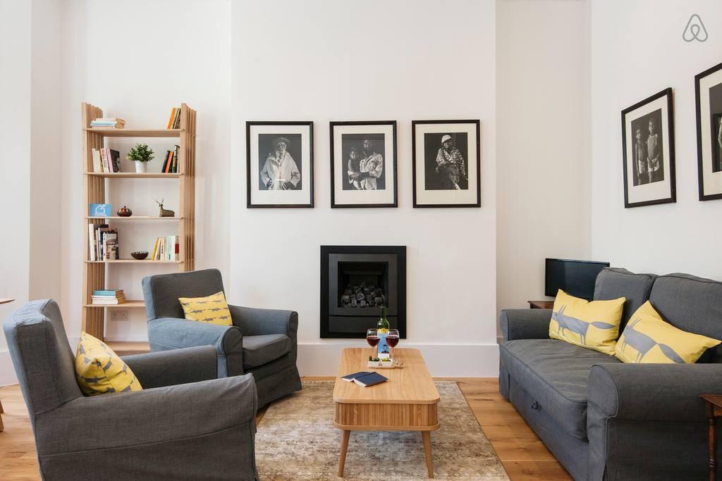 The Stunning Philbeach Garden Apartment - CSD