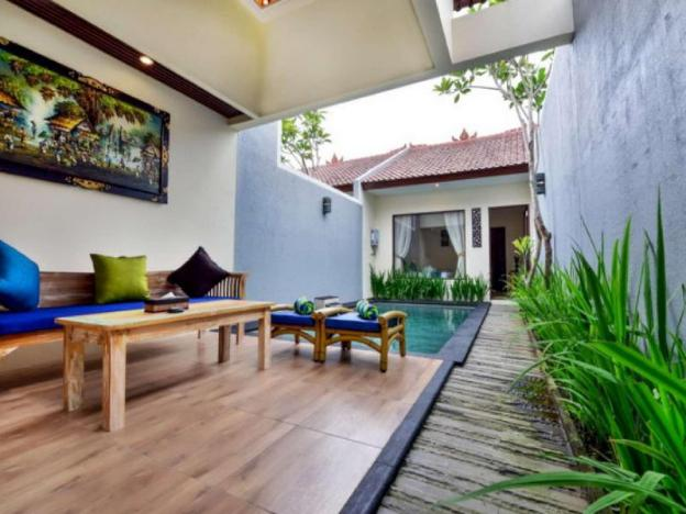 Private pool Villa  for 2 closed to Monkey Forest