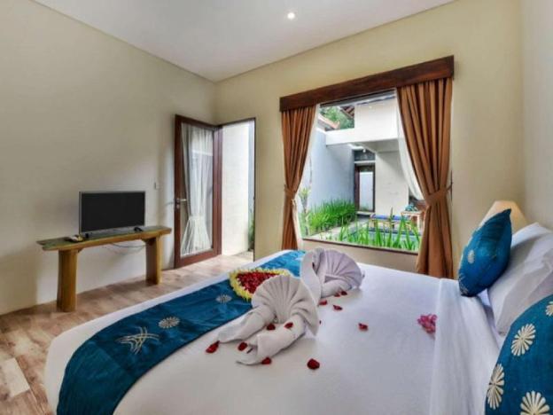Honeymoon with Private pool Villa in Ubud