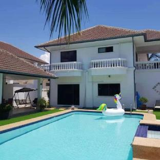 [ヒンレックファイ]ヴィラ(680m2)| 5ベッドルーム/5バスルーム Sunset village 5bedroom5bathroom  BBQ pool villa