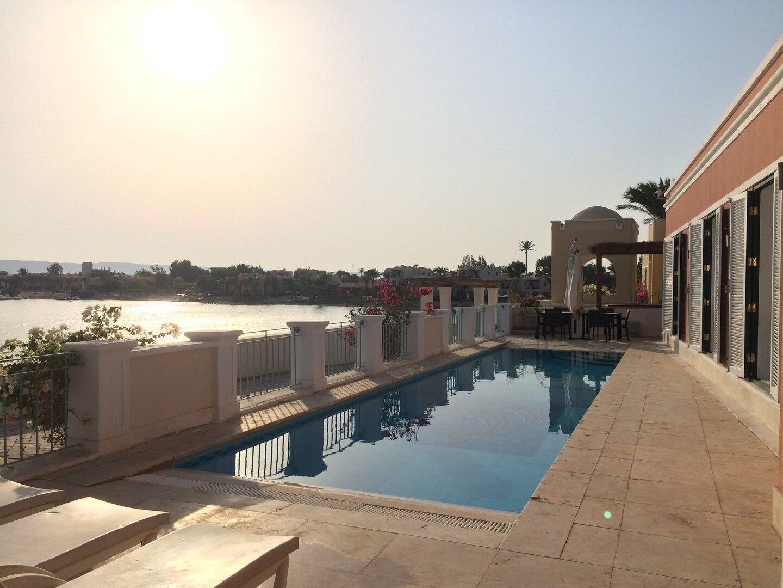 Villa Venezia El Gouna: heated pool, WiFi, beach