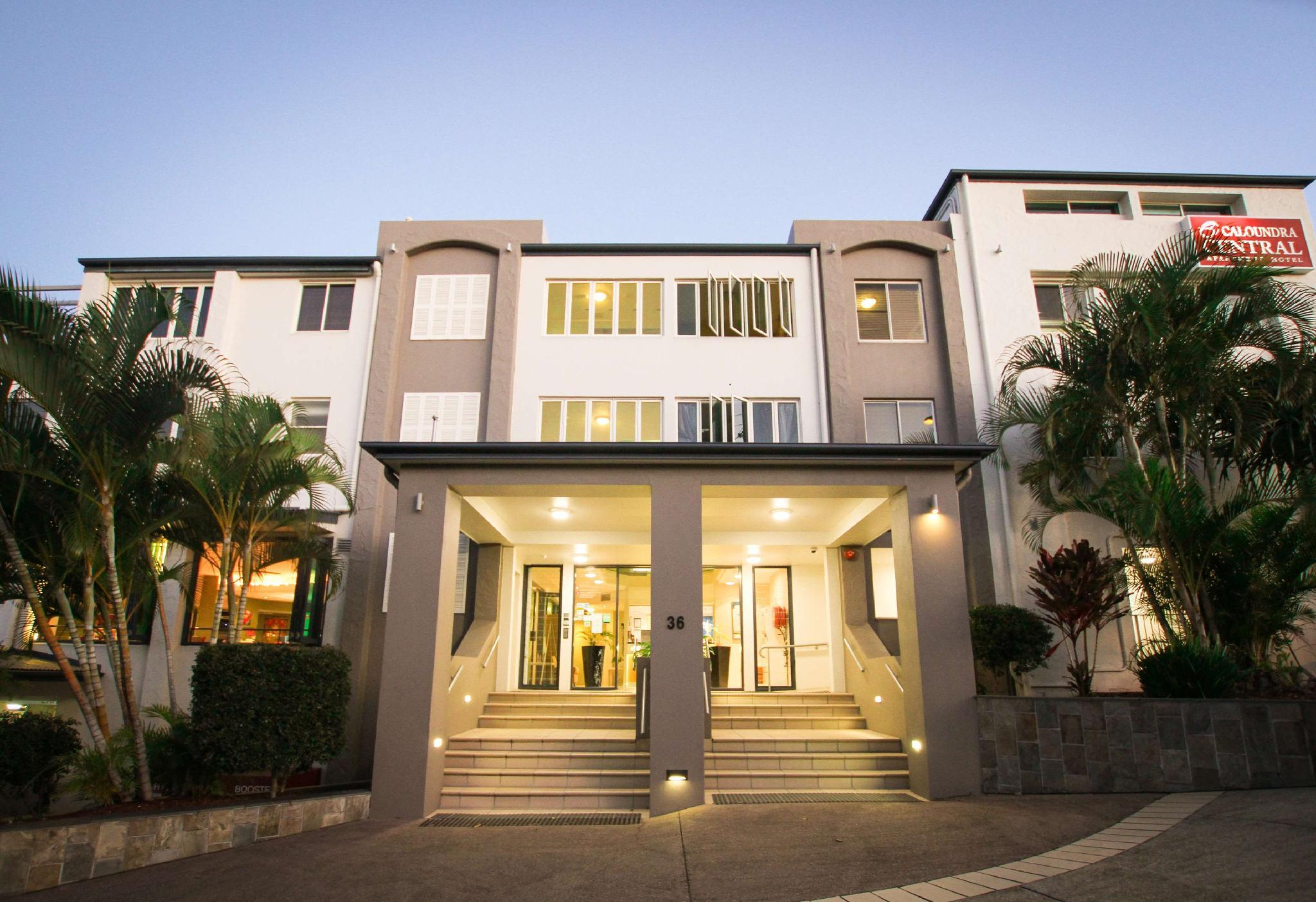 About Caloundra Central Apartment Hotel