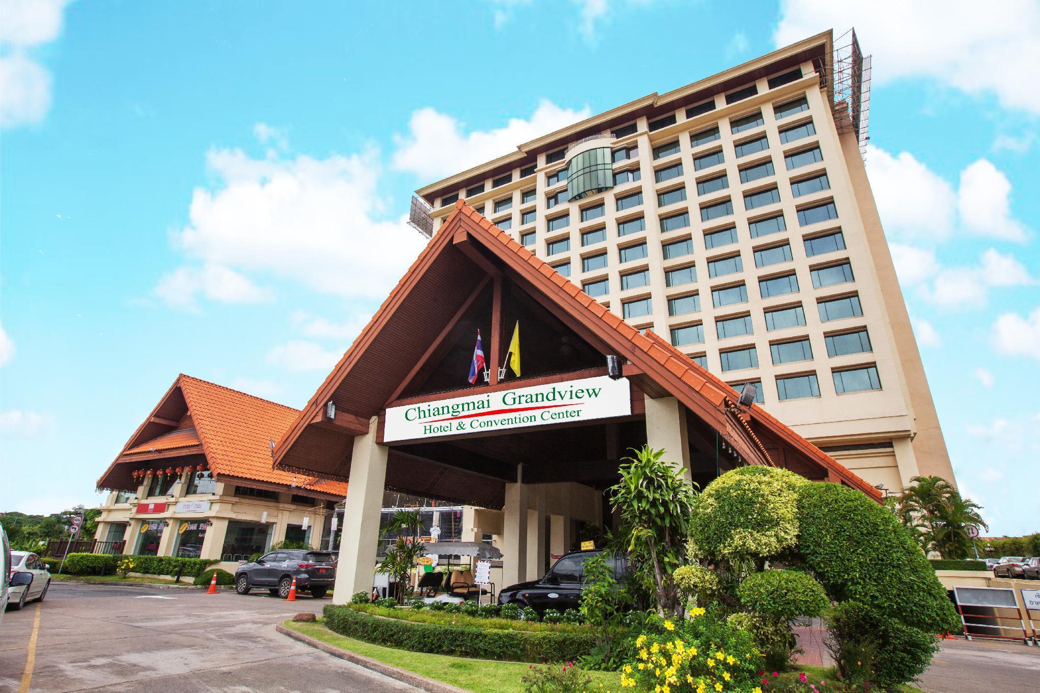 Chiangmai Grandview Hotel & Convention Center เชียงใหม่ แกรนด์วิว โฮเต็ล แอนด์ คอนเว็นชั่น เซ็นเตอร์