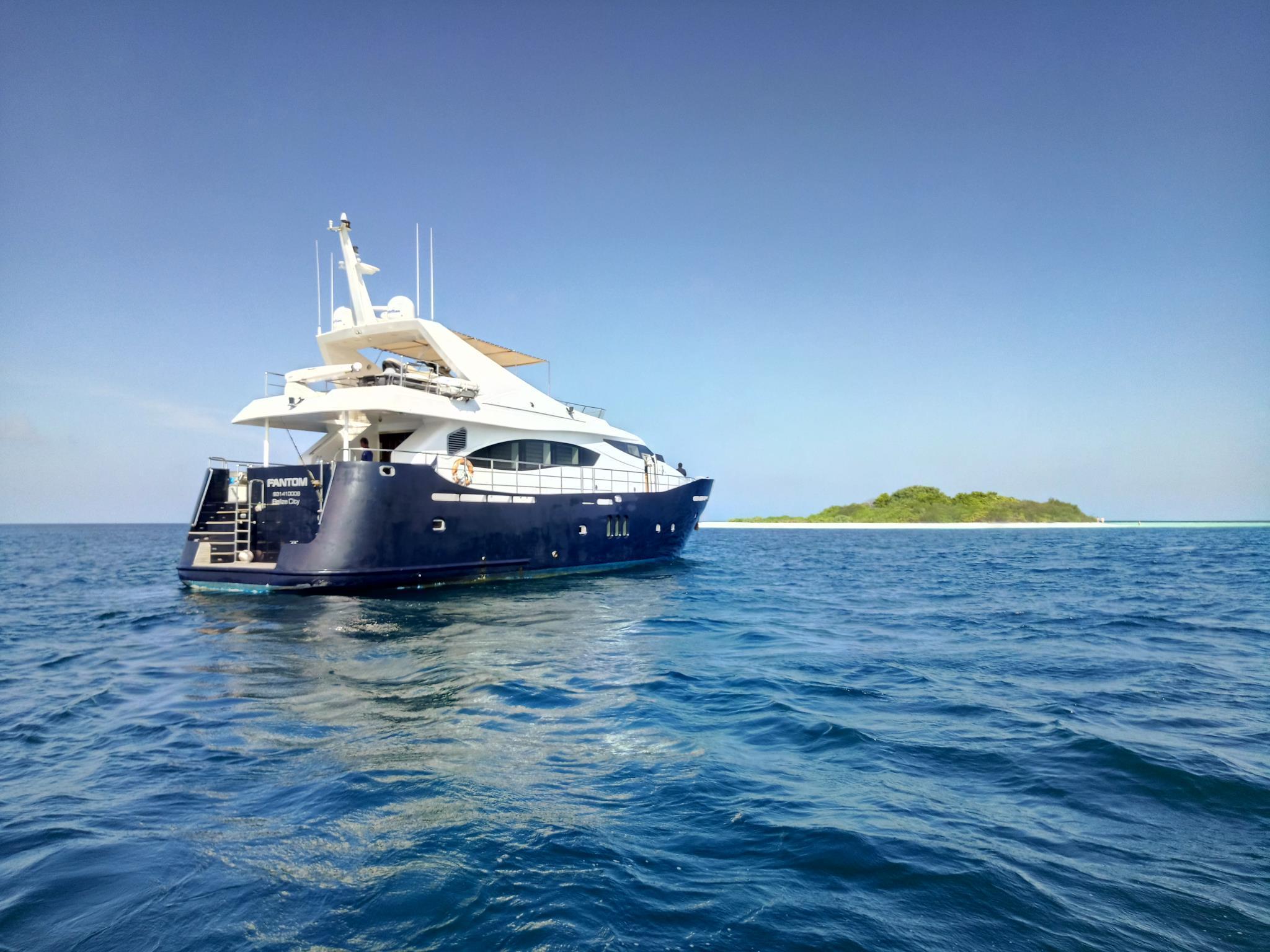 Fantom Luxury Yacht
