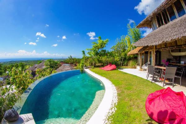 Le Bamboo Bali with Ocean View & Private Pool Bali