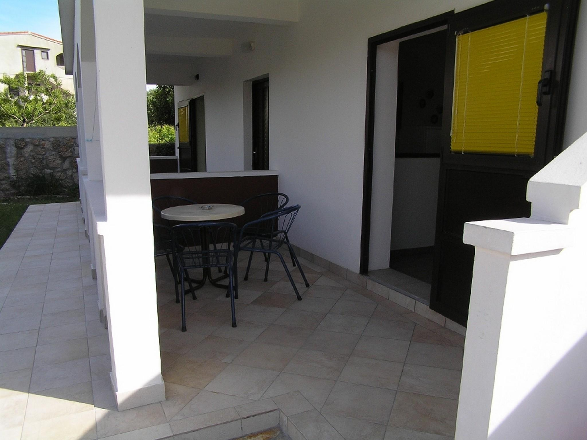 Sea View One Bedroom Apartment In Pag