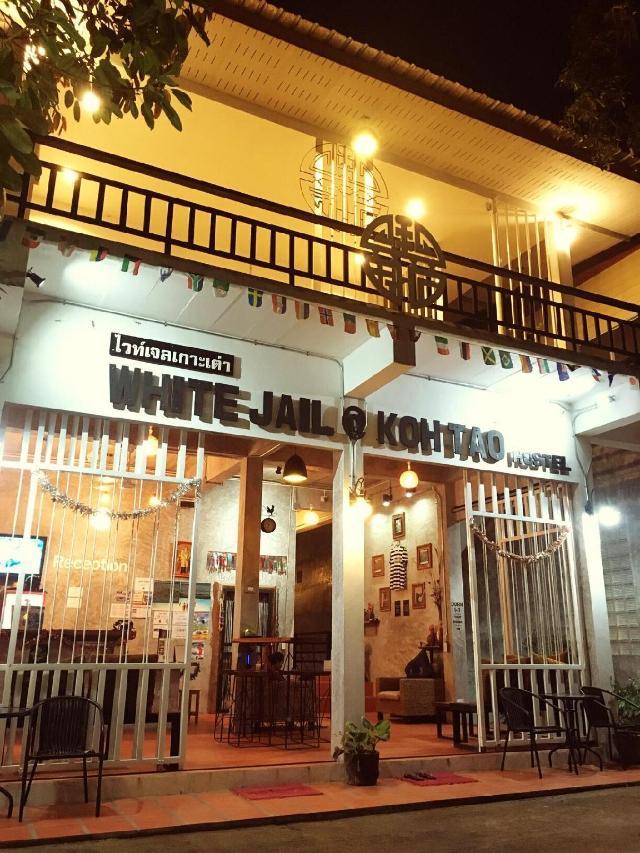 ไวท์ เจล แอท เกาะเต่า โฮสเทล – White Jail @ Koh Tao hostel