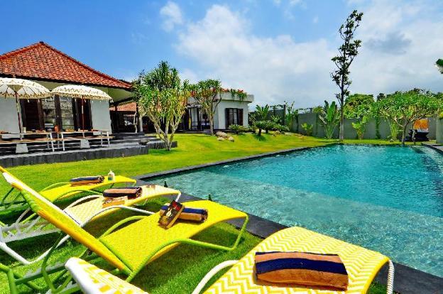Design villa in Batu Bolong