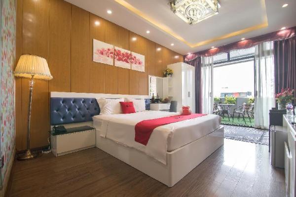 The Royal Hotel near West Lake Hanoi
