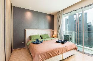 [スクンビット]アパートメント(40m2)| 1ベッドルーム/1バスルーム SkyBar/1-bedroom/WiFi/2min to BTS/pool&gym&jacuzzi