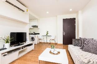 [スクンビット]アパートメント(45m2)| 1ベッドルーム/1バスルーム Quiet Life in Style 5 minutes walk to BTS Ekkamai
