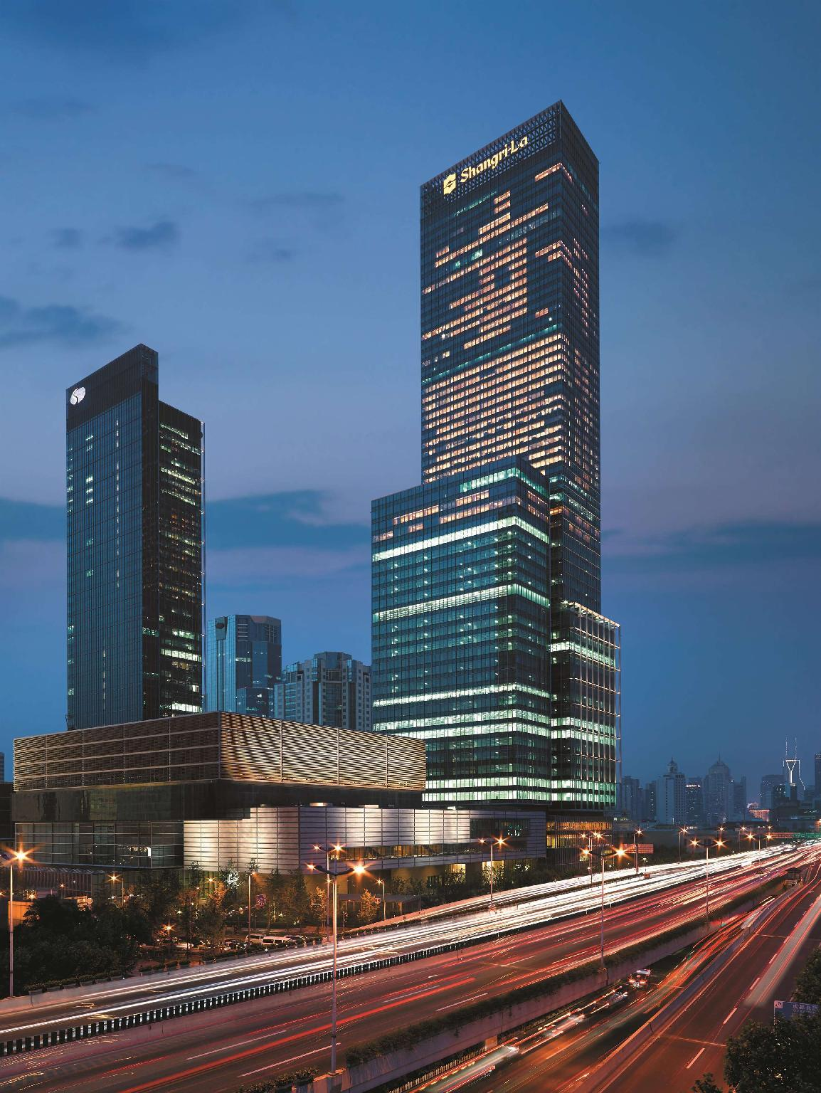 Jing An Shangri-La Hotel,West Shanghai