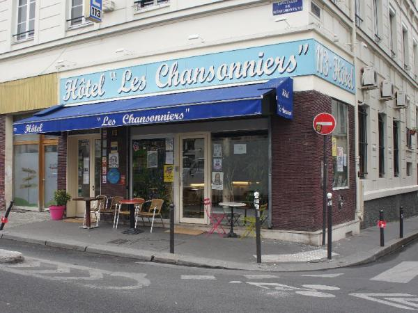 Hotel Les Chansonniers Paris