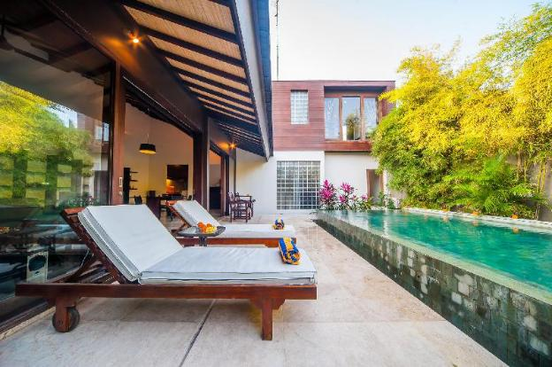 3 BR Tirta Villa A, Sanur, with Private Pool