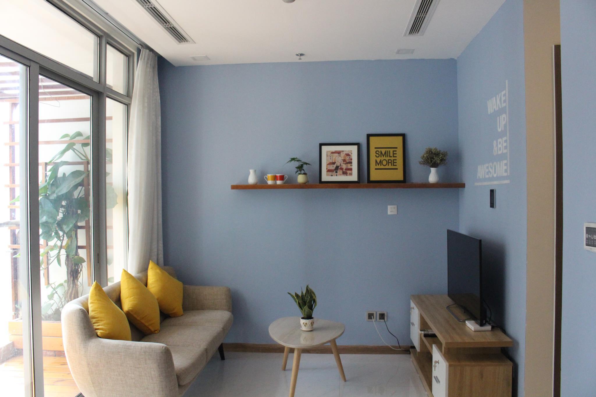 Justin Studio Apartment Vinhomes Central Park