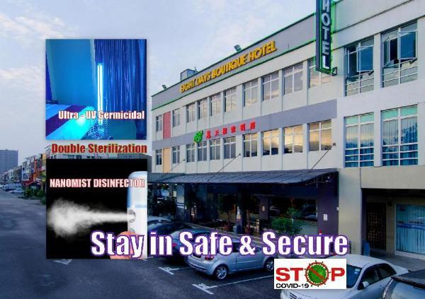 Eight Days Boutique Hotel @ Mount Austin Johor Bahru