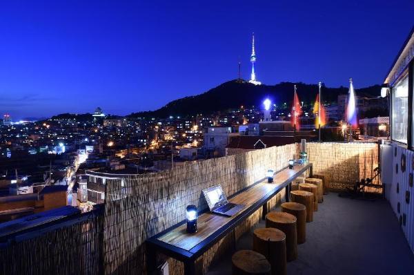 Namsan Photo Park Rooftop full house Seoul