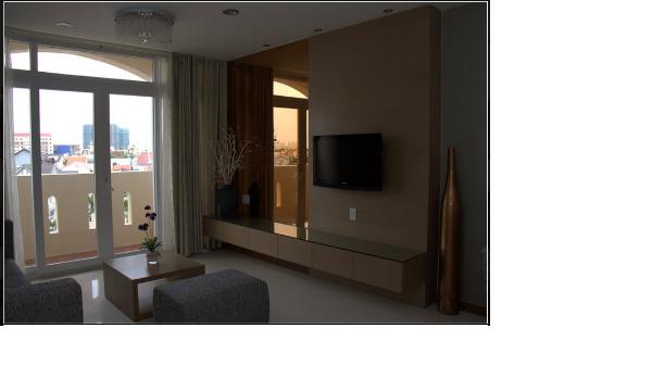 Apartment for rent in HangFrank Condo I Ho Chi Minh City