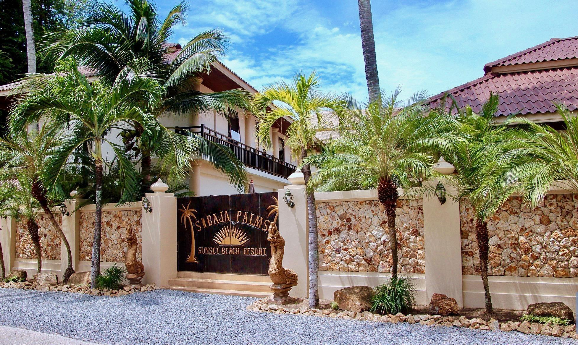 Sibaja Palms Sunset Beach Luxury Villa. สิบาจา ปาล์มส์ ซันเซต บีช ลักชัวรี วิลลา