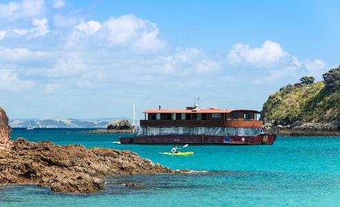 Yha Bay Of Islands   The Rock Overnight Cruise