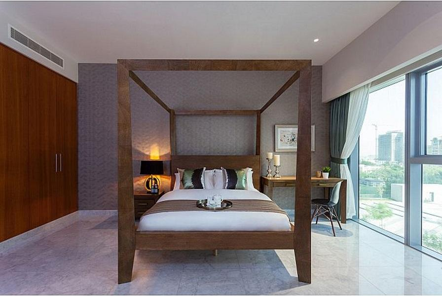 Stylish Studio In Central Park Tower  DIFC