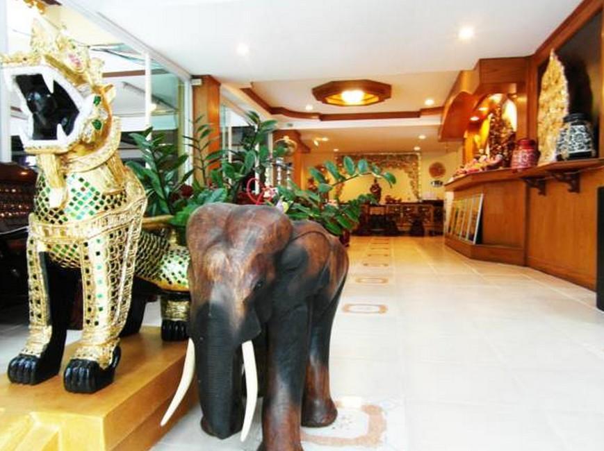 Thai City Palace Hotel โรงแรมไทย ซิตี้ พาเลซ