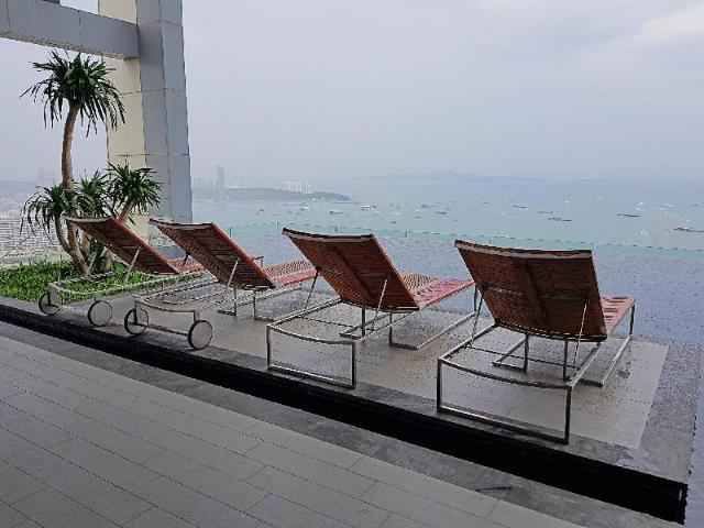 อพาร์ตเมนต์ 1 ห้องนอน 1 ห้องน้ำส่วนตัว ขนาด 28 ตร.ม. – พัทยากลาง – 1BR Centric Sea By PattayaHoliday
