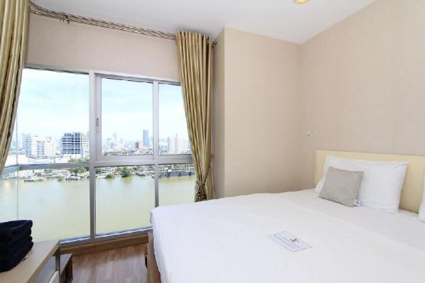 Riverfront Suite#2 60m2+Netflix+WIFI@Room and Pool Bangkok