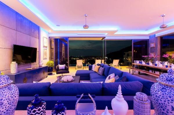 Luxury sea view villa Momo 5 bedroom in Kata Phuket
